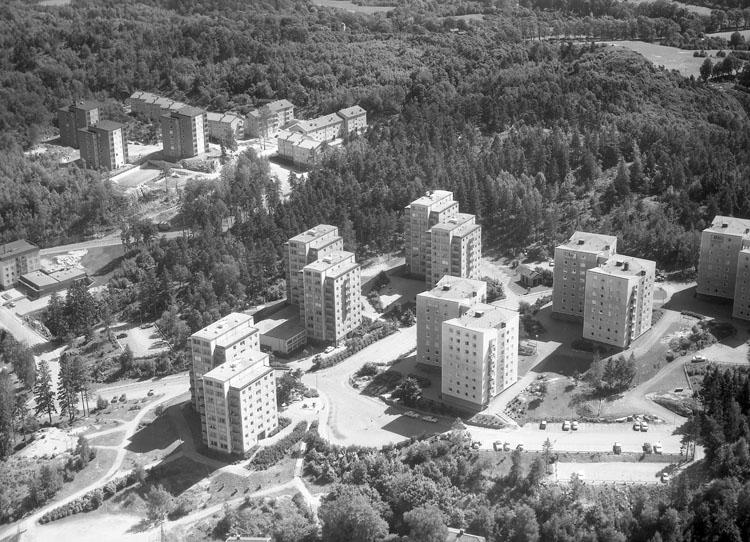 Bostadområdet Bohusgården, Uddevalla 1964