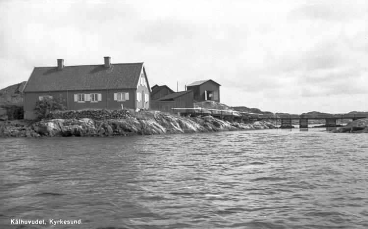 """Enligt AB Flygtrafik Bengtsfors: """"Kyrkesund, Kålhuvudet""""."""
