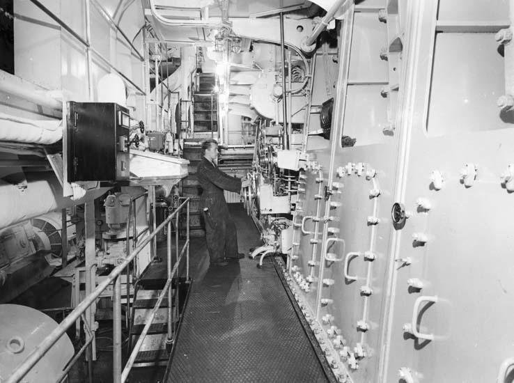 Interiör från fartyg 199 M/S Saracen.