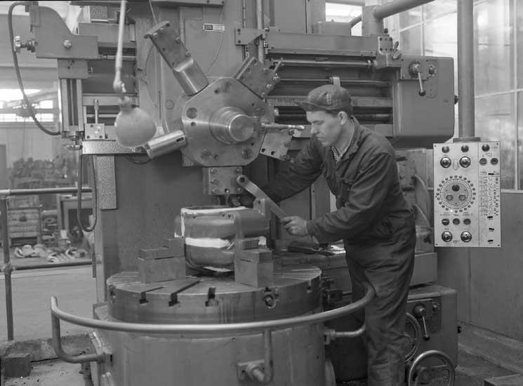 Arbete i verkstaden, Skandiaverken.