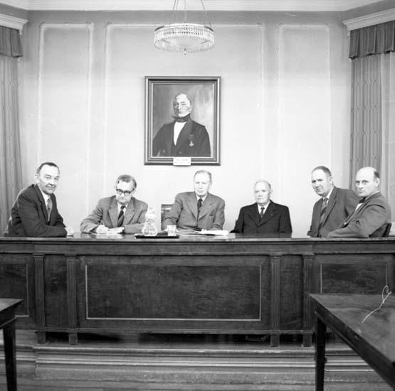 """Enligt notering: """"Vattendomstolen Rådhuset 25/9 -59""""."""