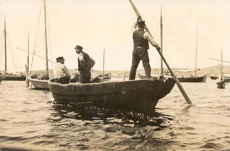 """Noterat på kortet: """"Donsö."""" """"Vid Donsö fiskläge."""" """"1896""""."""