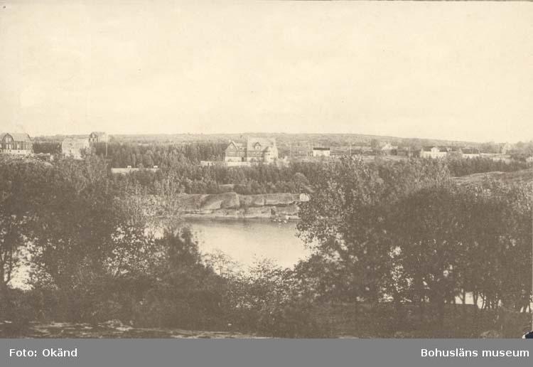 """Noterat på kortet: """"Strömsvattnet, Strömstad.""""  ::"""