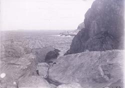 """Enligt text som medföljde bilden: """"Islandsberg, Okt. 10."""" ::"""