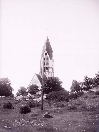 """Enligt text som medföljde bilden: """"Gotland."""" ::"""