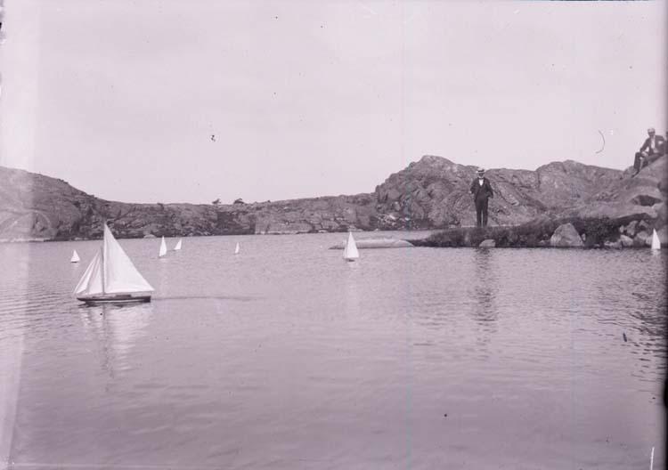 Kappsegling med modellbåtar 7 juli 1901