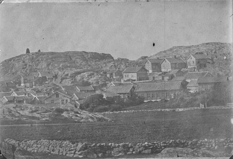 Gamlestan, Lysekil på 1860-talet.