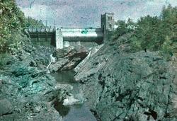 Fallfåran och Strömkarlsbron, Trollhättan