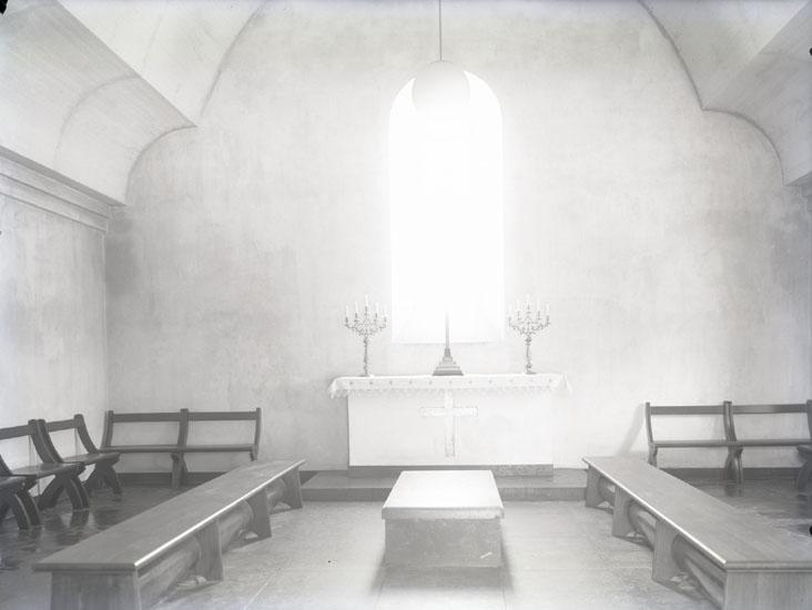 """""""1935. N.o. 22. Grafkapellet.""""  """"Kvistrumsälven. Kvistrumsvägen."""""""