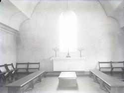 """1935. N.o. 22. Grafkapellet.""  ""Kvistrumsälven. Kvistrums"