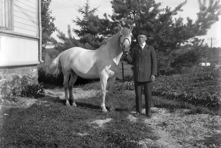 """Enligt fotografens journal nr 4 1918-1922: """"Rutgersson, Ture Här""""."""