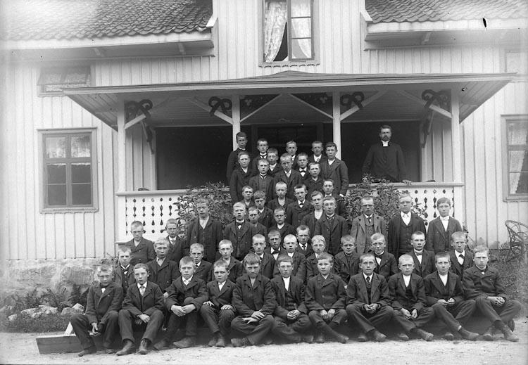 """Enligt fotografens notering: """"Pastor Lindman, Kålleröd Solberg 1912"""". ::"""