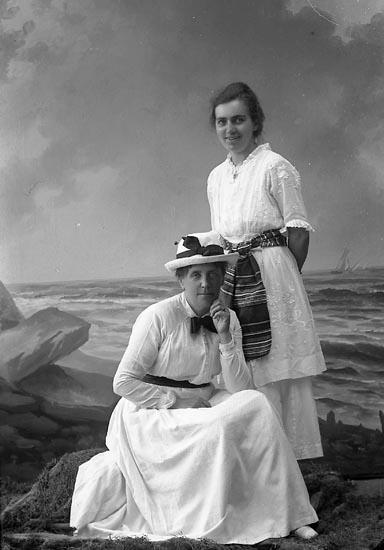 """Enligt fotografens journal nr 4 1918-1922: """"Andersson, Fr. Elin Här""""."""
