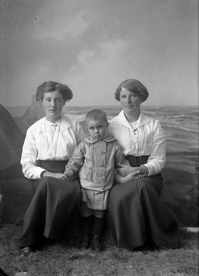 "Enligt fotografens journal nr 2 1909-1915: ""Brattfors, Anna, Motala Grinden, Hallsberg""."