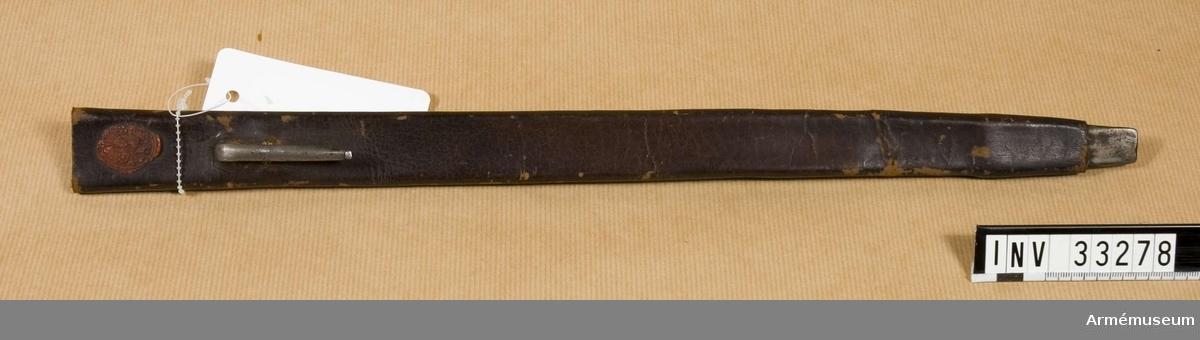 Grupp E II. Till flintlåsgevär, 1760-70-t.
