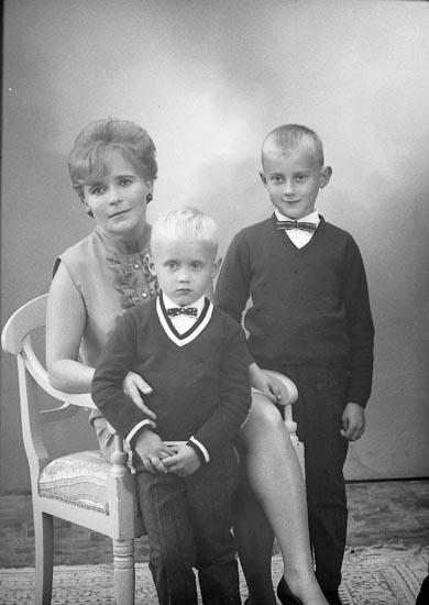 """Enligt fotografens journal: """"Fru Portinen, Uppegårdsvägen 72 Stenungsund""""."""