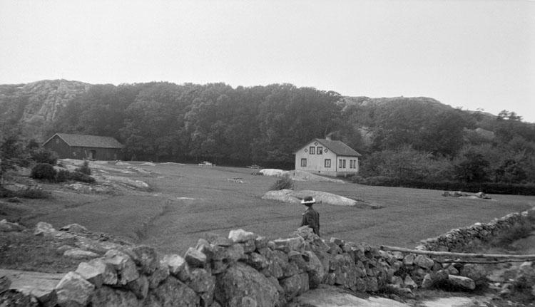 """""""Syd-Hällsö, huset med kaffeservering, 19 augusti 1920"""" enligt senare notering"""