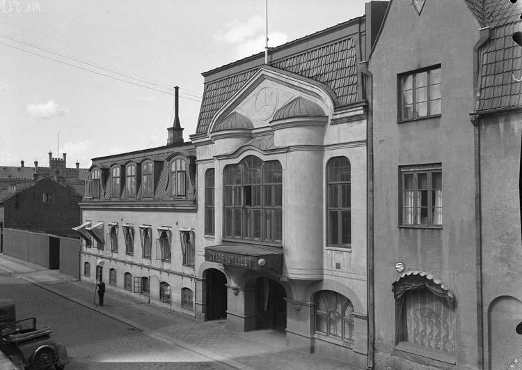 "Uppgift enligt fotografen: ""Uddevalla. Stadshotellet."""