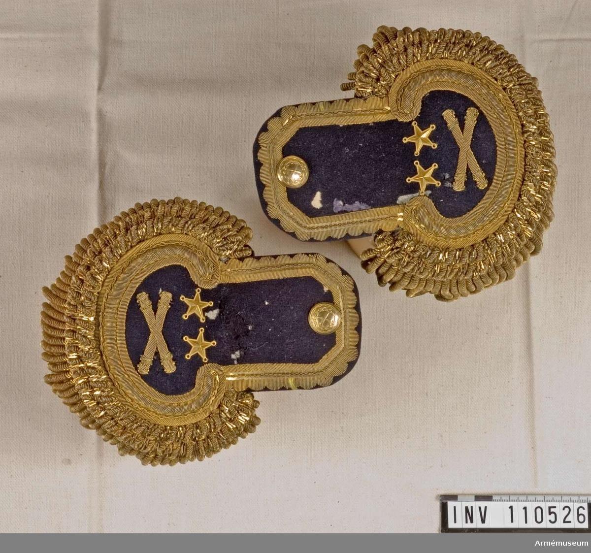 Epåletter m/1830