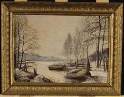 Vinterstycke [Målning]