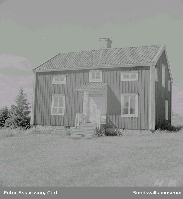 Hembygdsföreningens gårdar.
