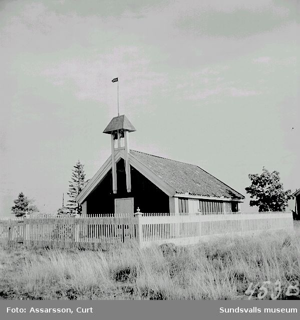 Brämö kapell från 1600-talets början.