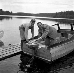 Båtbyggare. Sörberge.