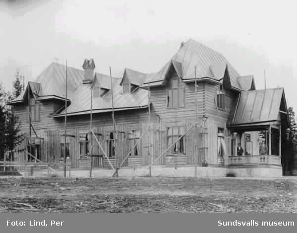 Alby 1898. Kontorsbyggnad.