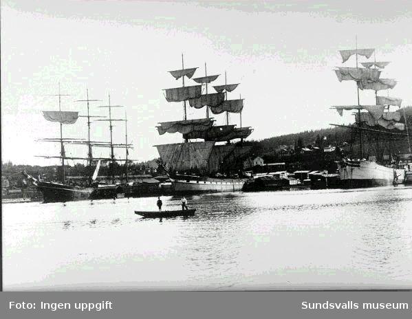 Segelfartyg utanför Skönvik.