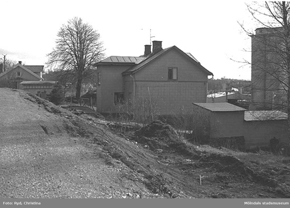 En villa på Ormåsgatan 3, Stensjön. Bilden är tagen 1991.