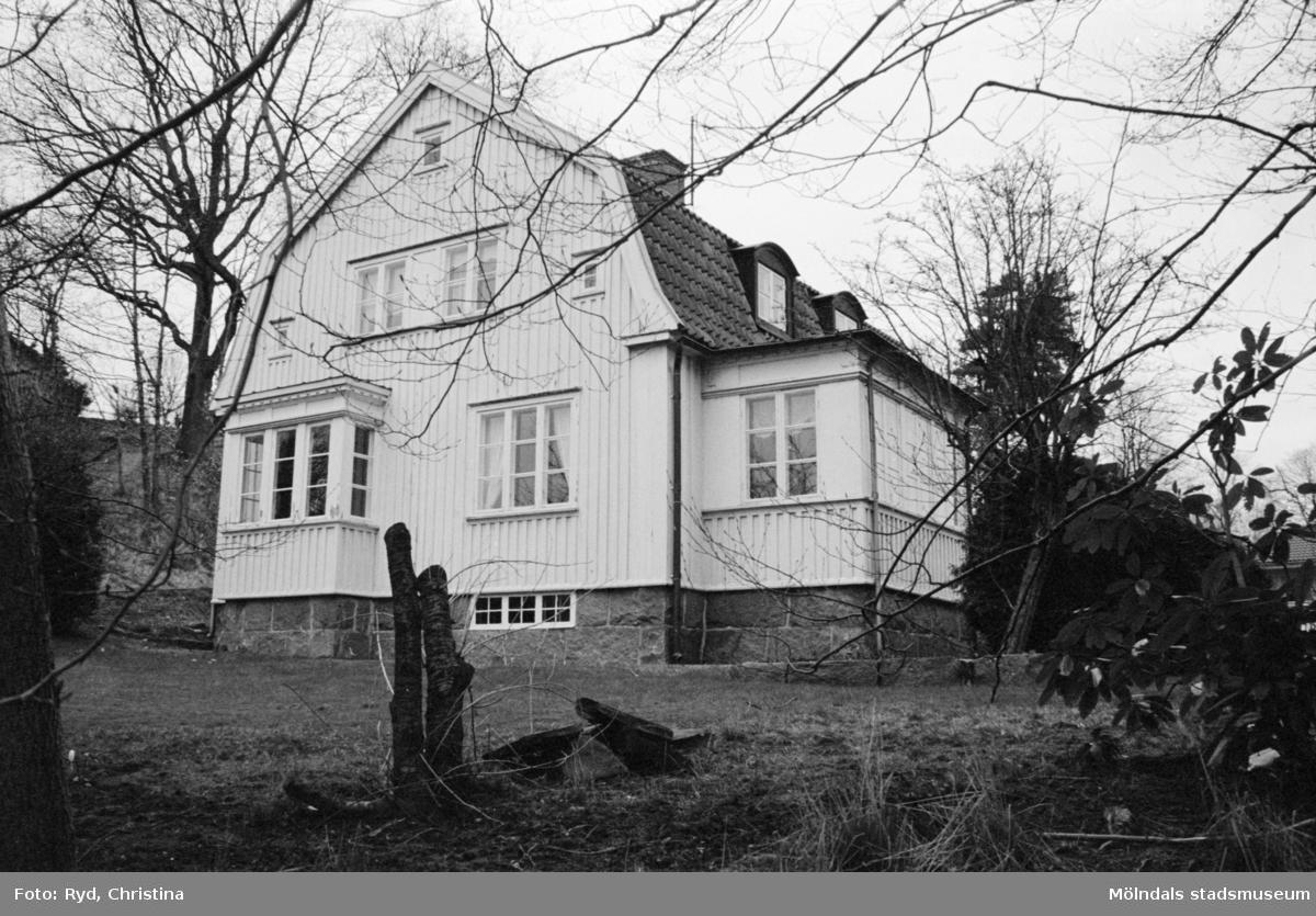 En villa på Svingelvägen 6, Allmänna Bräcka i Lindome, 1992.
