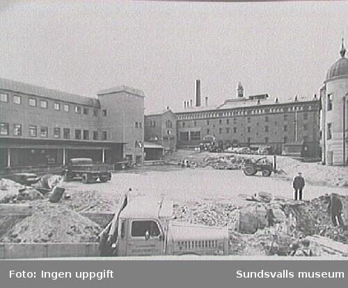 Gården till Nordstjernans bryggeri 1975.