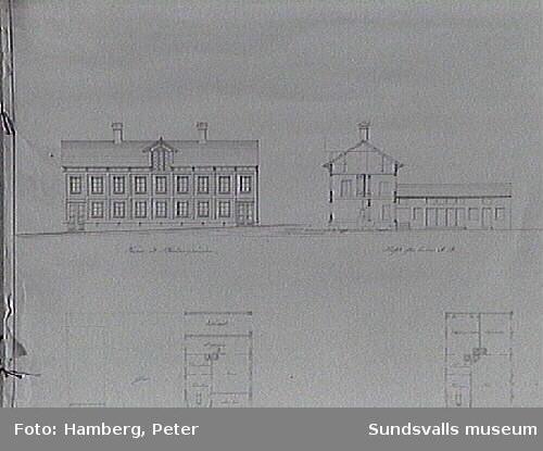 Södra hotellet, ritat av stadsbyggmästaren Mesch.