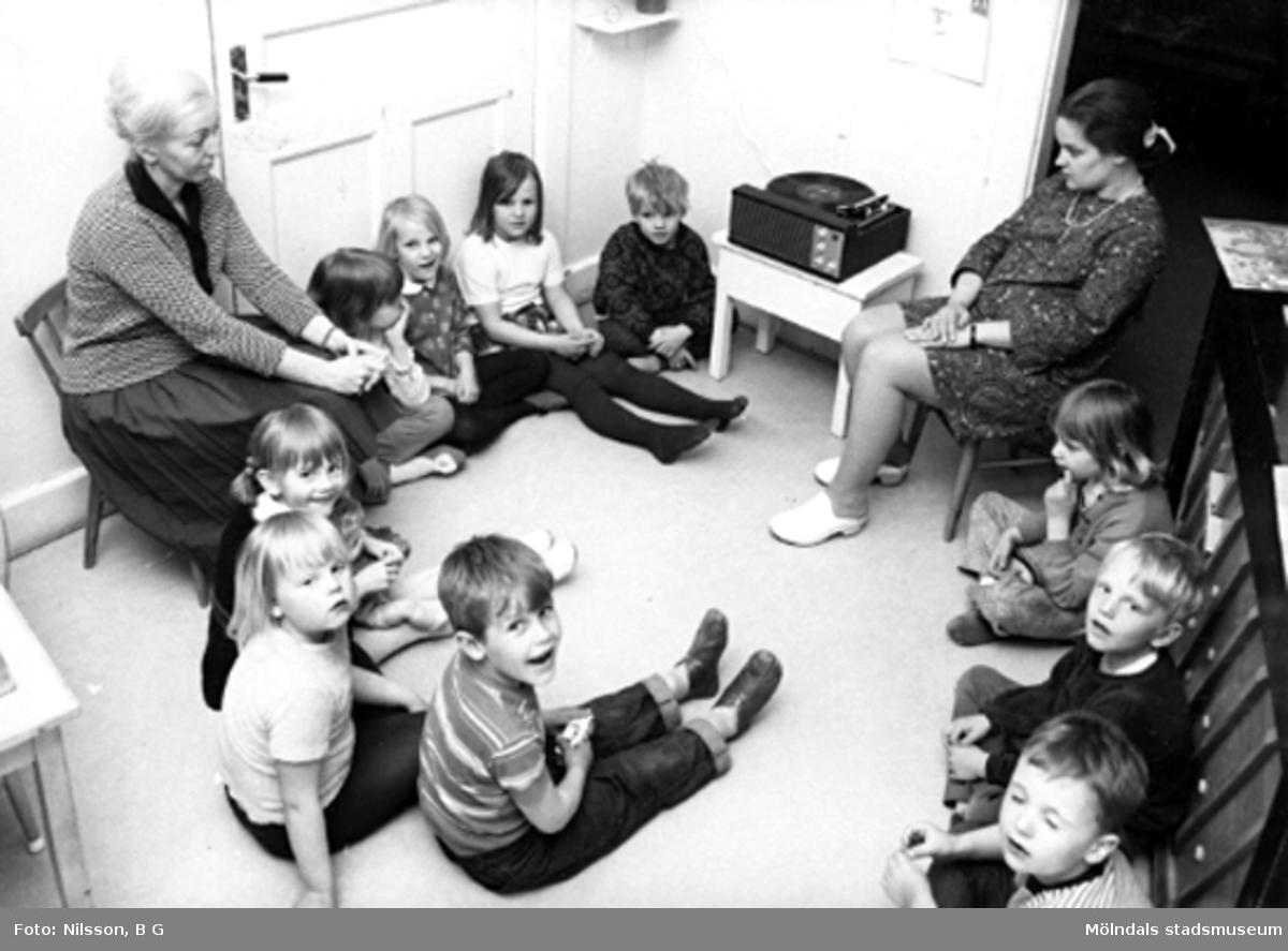 5-7 års avdelningen på Holtermanska daghemmet.