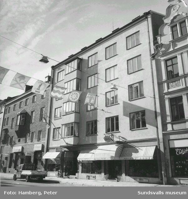 Storgatan 5 kv Bacchus 10, förutvarande Bacchus 2, s k ASEA-huset