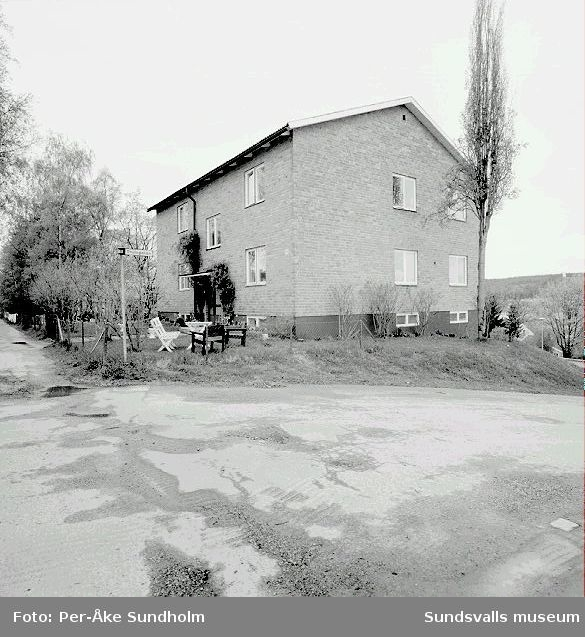Flerbostadshus, kv. Spiken 7, Södra Allén 10.