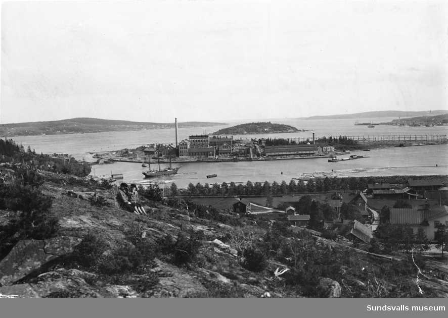 Ortviken, omkring 1910.