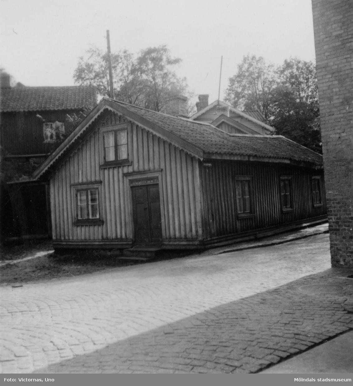 Egnas hus vid Forsebron.Kvarnfallet är en äldre gatuadress som inte används längre.