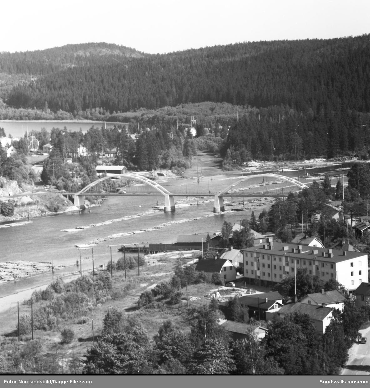 Kvissleby fotograferat från Nolbykullen.