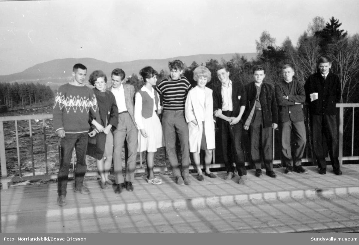 Ungdomsreportage från Ljungaverk, fotograferat för Expressen.