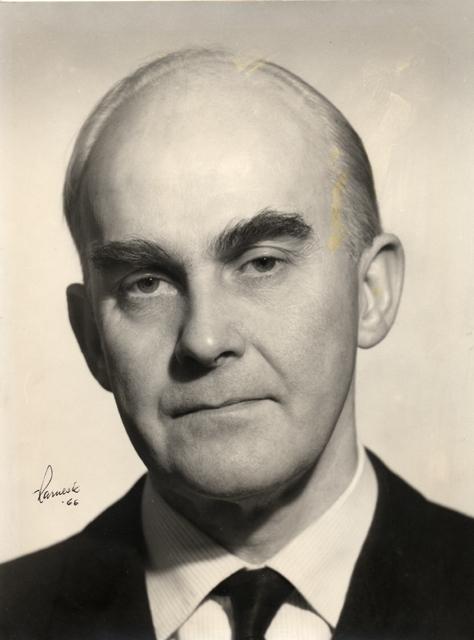 Knut Ring, postmästare i Örebro 1962-1968.