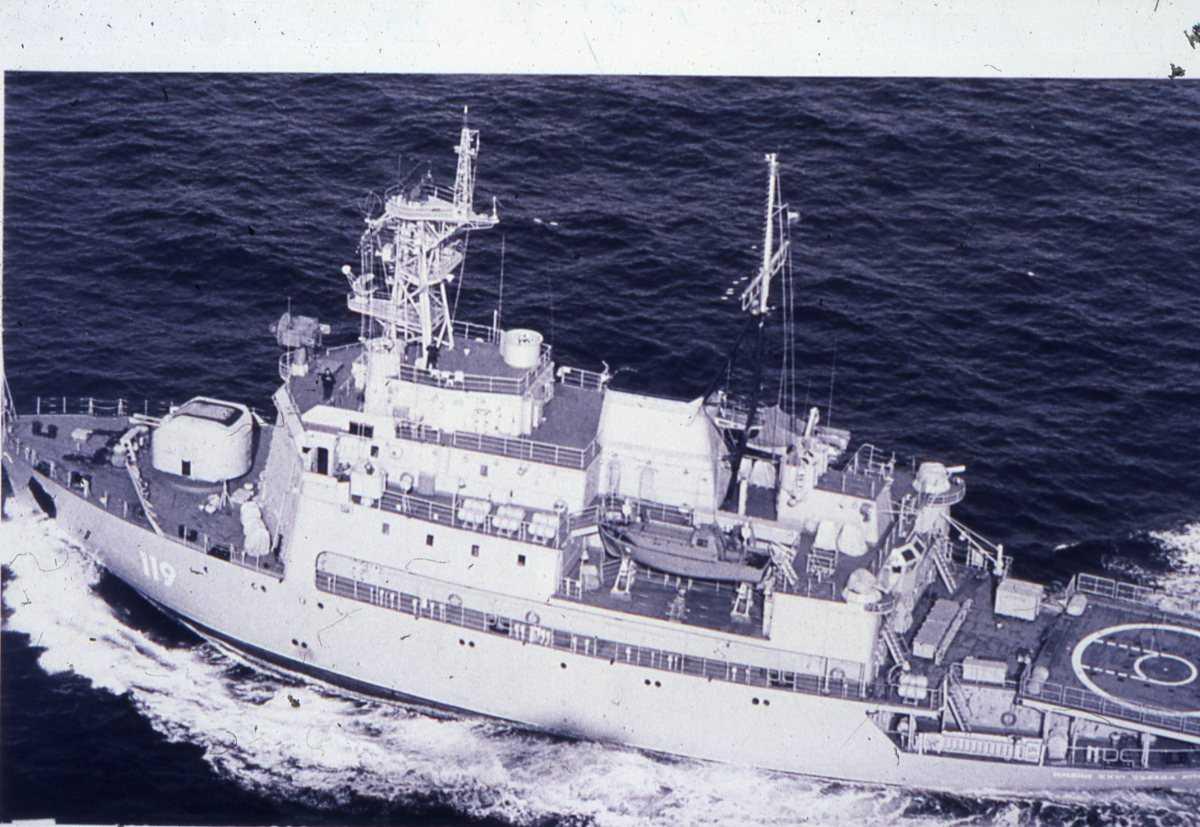 Russisk fartøy av Susanin - klassen med nr. 119 og heter Imeni xxvi Syezda Kpss.