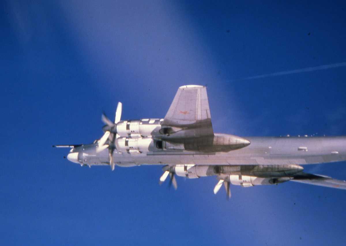 Russisk fly av typen Bear H.