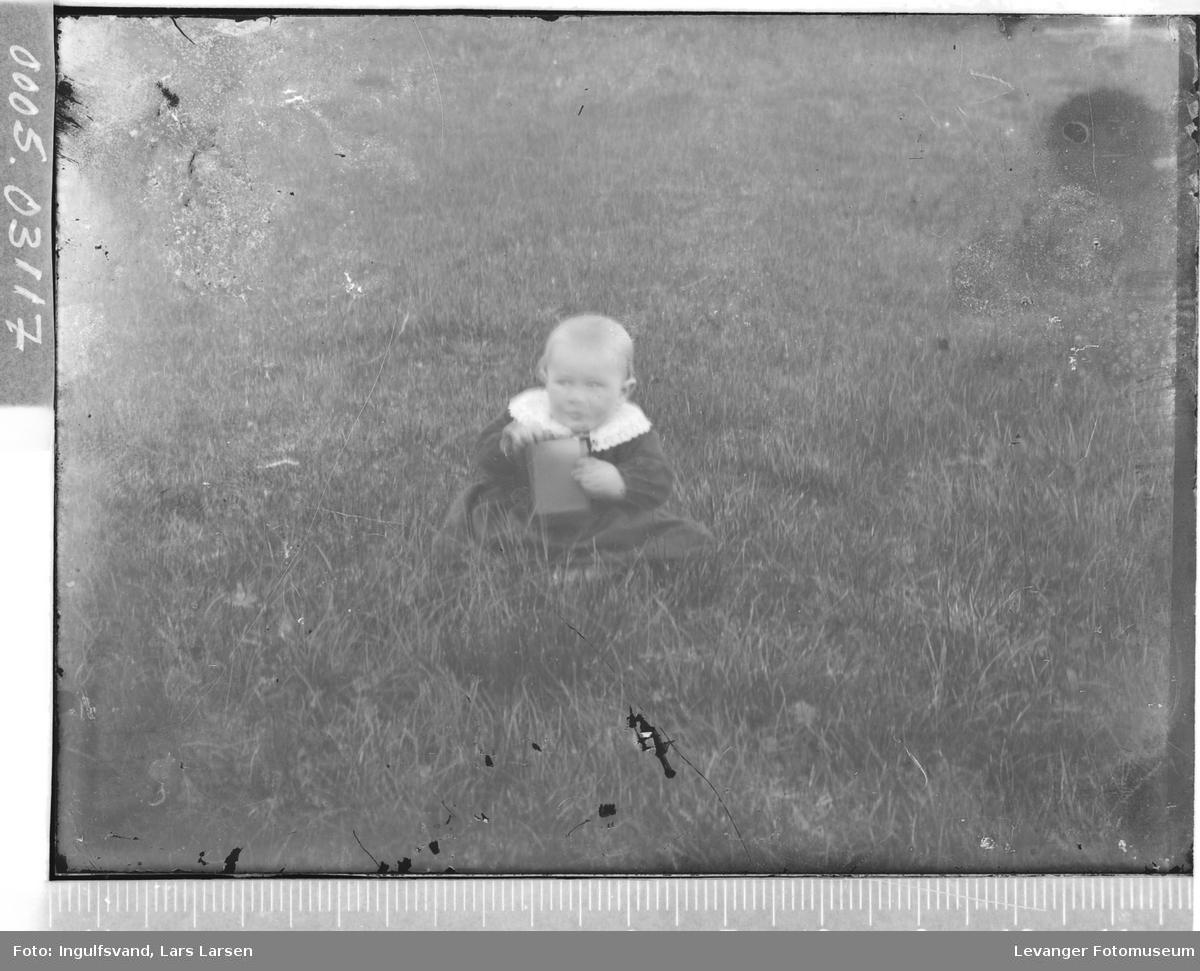 Portrett av en liten gutt.
