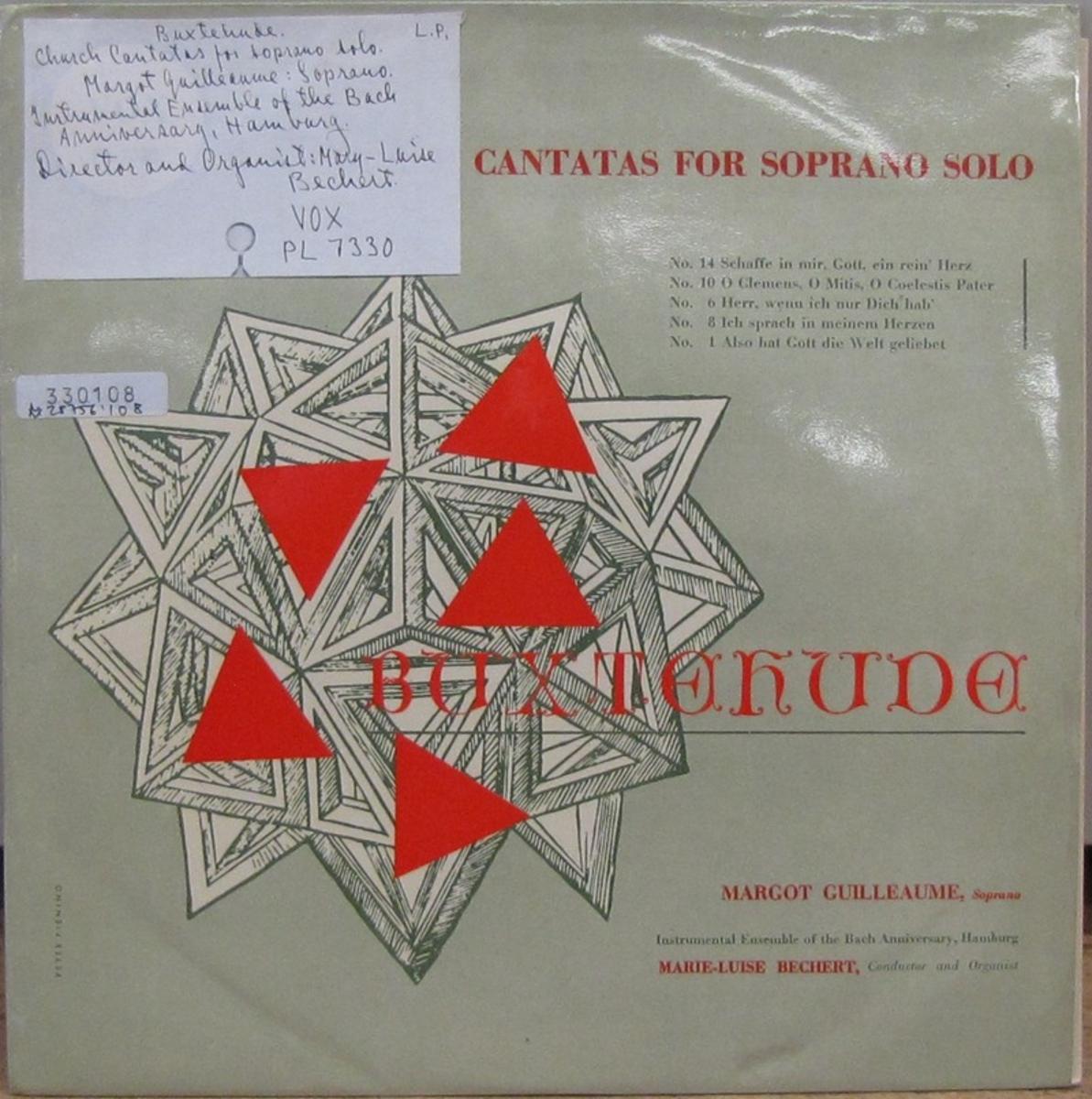LP-skiva av märket VOX