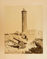 Fort Ras-el-Tin, Alexandria, Egypten 1882.   Under The Bomba