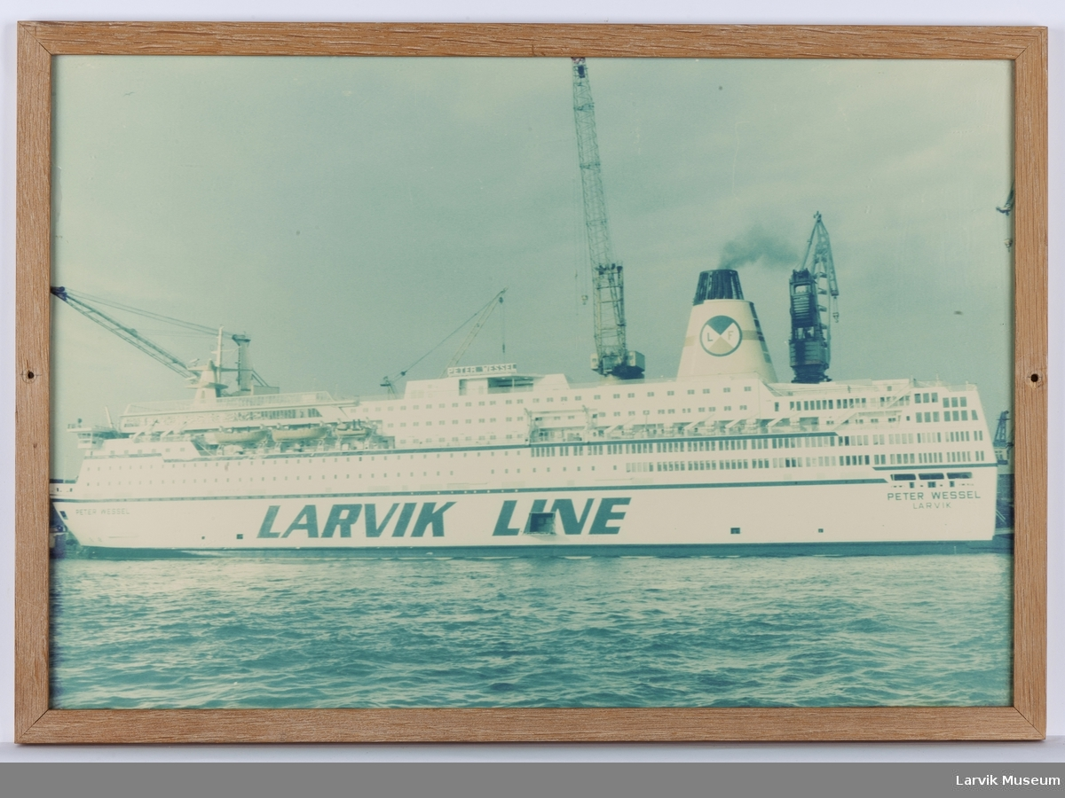 MS Peter Wessel (nr. 4) - Larvik Line, etter forlengelsen