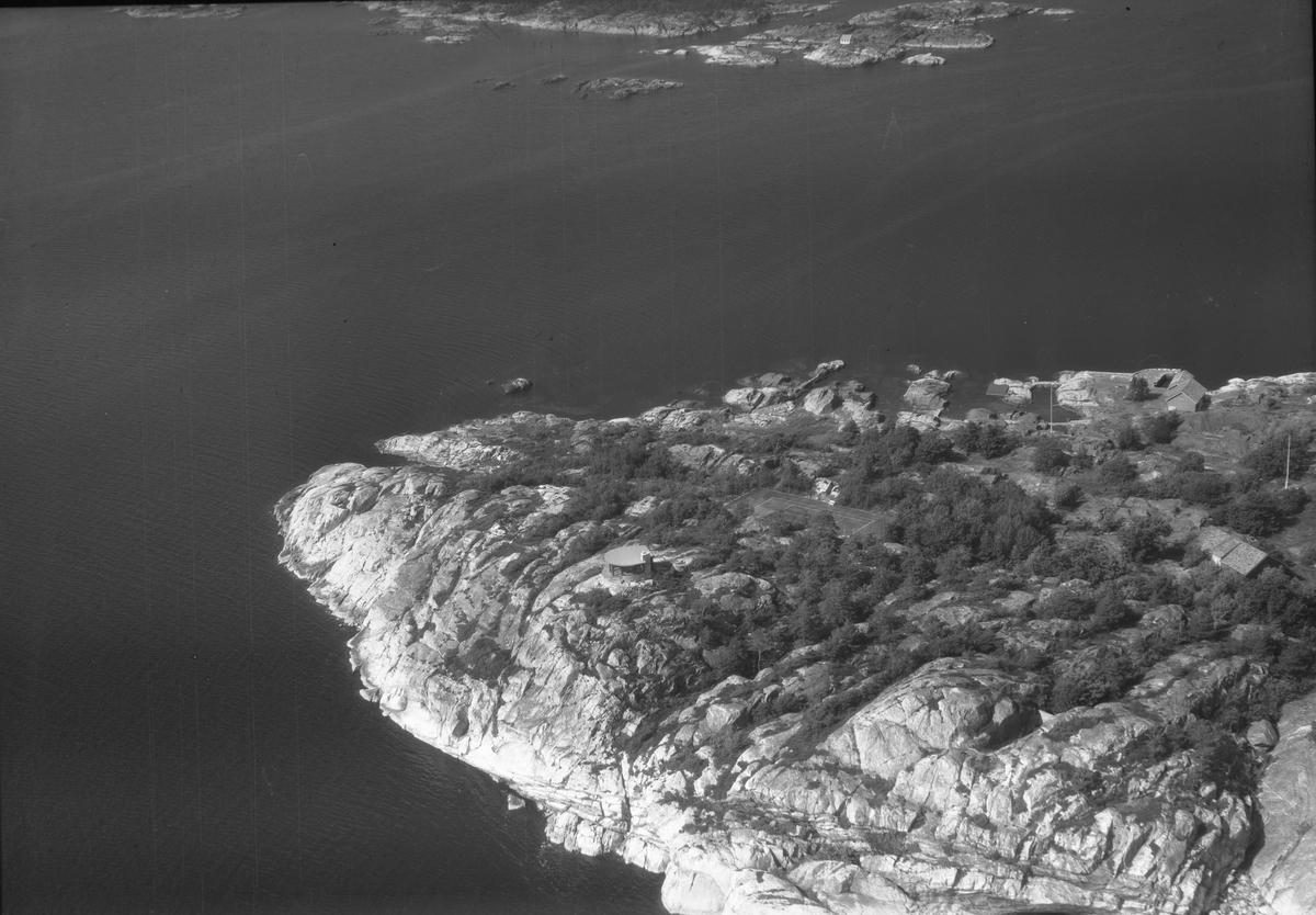 Flyfoto fra Bråtøy, Skåtøy. Kragerø