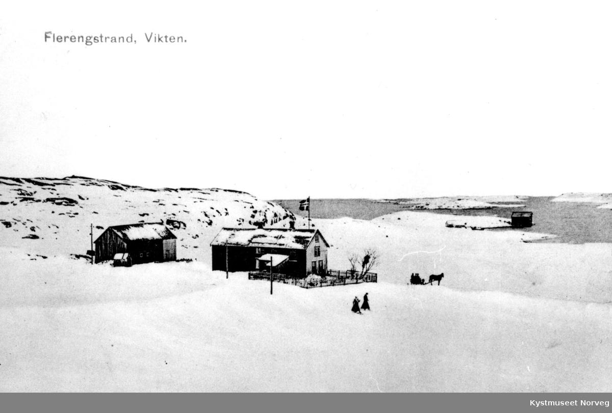 Vikna, Vinterbilde fra Flerengstrand
