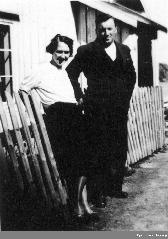Hjalmar med frue.